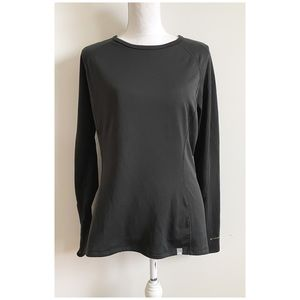 The North Face Black Long Sleeve T-Shirt Large